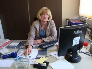 Schulsekretärin Frau Wiegand